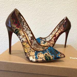 Christian louboutin heels size 37.5
